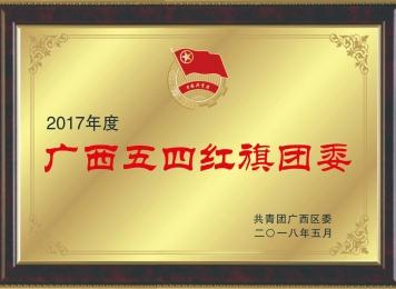 荣获2017年度广西五四红旗团委